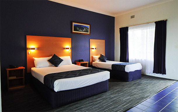 Superior Corporate Twin at Australis Sanctuary Resort Motor Inn, Accommodation In Coffs Harbour